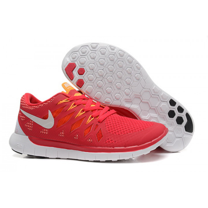 Кроссовки Nike free run 5.0 красные 2014 New
